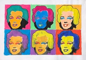 Marilyn Monroe Popart1