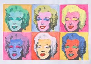 Marilyn Monroe Popart3